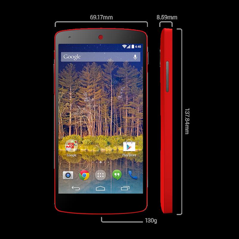 Foto de Nexus 5 - Rojo brillante (7/9)