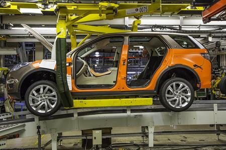Land Rover Discovery Sport fabricación