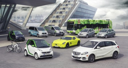 Mercedes-Benz planea una submarca para sus vehículos eléctricos
