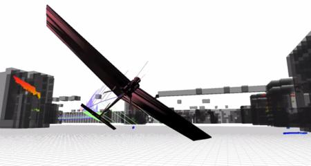 El avión autónomo del MIT que vuela en interiores