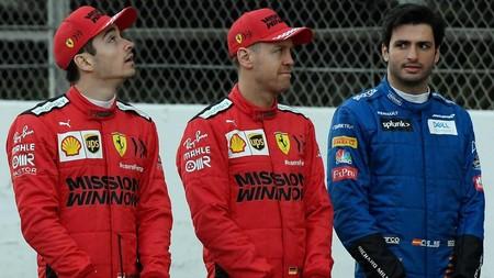Carlos Sainz Ferrari F1 2020