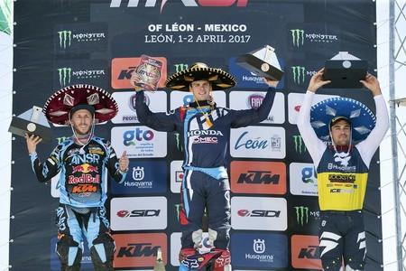 Podio Mxgp Mexico 2017 4