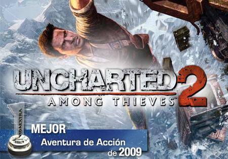 Mejor Aventura de Acción de 2009 en VidaExtra: 'Uncharted 2: El reino de los Ladrones'