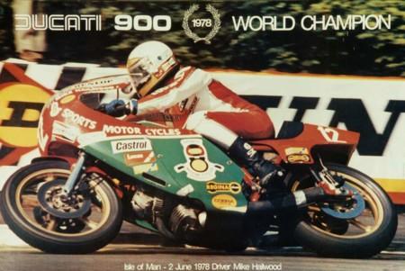 Mike Hailwood Y Ducati 900ss Ncr 1978 A