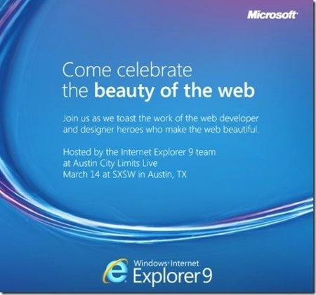 Microsoft anuncia un evento relacionado con Internet Explorer el 14 de marzo