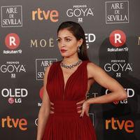 Premios Goya 2018: Hiba Abouk elige un sensual look de inspiración griega