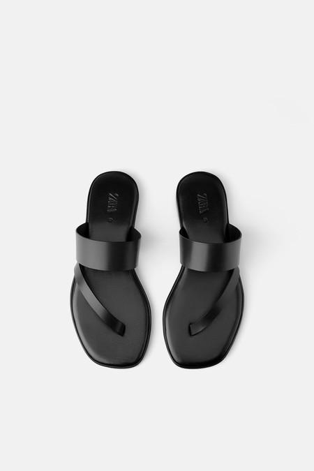 Sandalias Planas Zara 2019 01