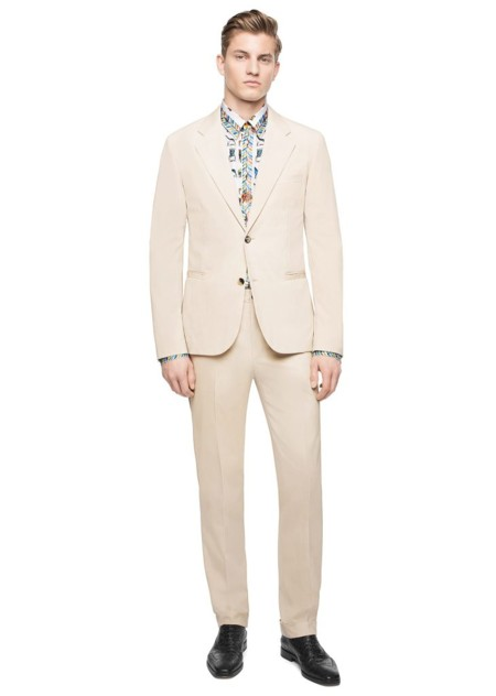 Benjamin Benedek Versace Summer 2016 Suits 001