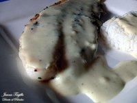 Filetes de panga con salsa de mostaza. Receta