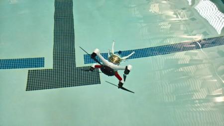 ¿Quién dijo que a los drones no les gusta el agua? Loon Copter nada y bucea