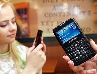 Samsung SGH-i320, smartphone con teclado QWERTY