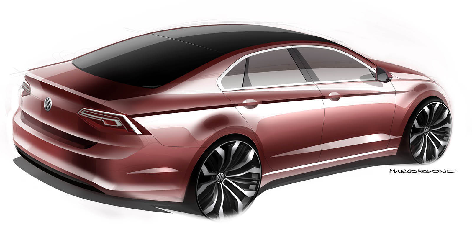Volkswagen New Midsize Coupé Concept