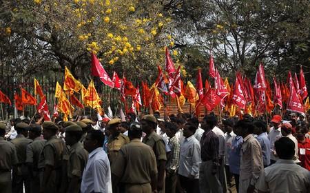 ¿Ha muerto el movimiento obrero? No en la India: 150 millones de personas protestan en las calles