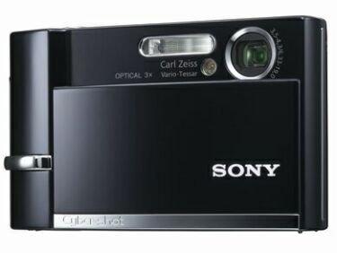 CyberShot DSC-T30, nueva compacta de Sony