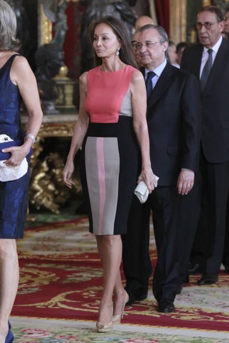 Isabel Preysler recepcion Felipe VI Letizia