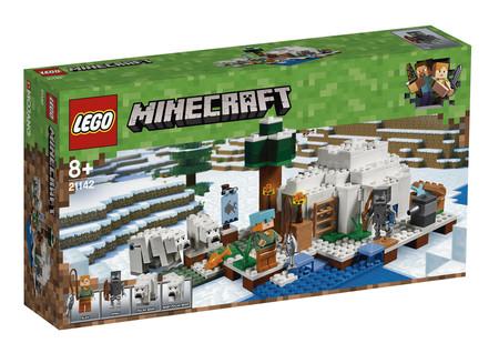 Lego Minecraft Iglu