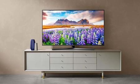 Disfruta de un excelente smart TV 4K de 55 pulgadas al mejor precio: la Samsung UE55RU7475 está de oferta en MediaMarkt por sólo 499 euros
