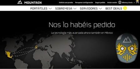 Mountain, el fabricante de ordenadores personalizados llega a México