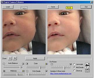 Free DCE, retoque básico de fotografías