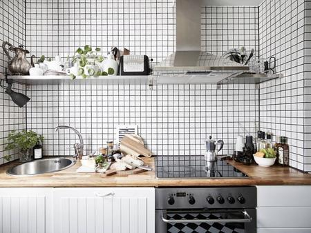 Una cocina que te dejará a cuadros