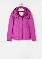 chaqueta rosa niña