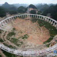 China ya presume lo que será el radiotelescopio más grande del mundo
