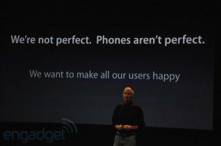 """Resumen de la conferencia de Apple: """"No somos perfectos, los teléfonos no son perfectos"""""""