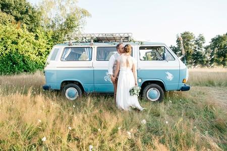 Lo último de lo último. Boda y honeymooners en autocaravana y campers