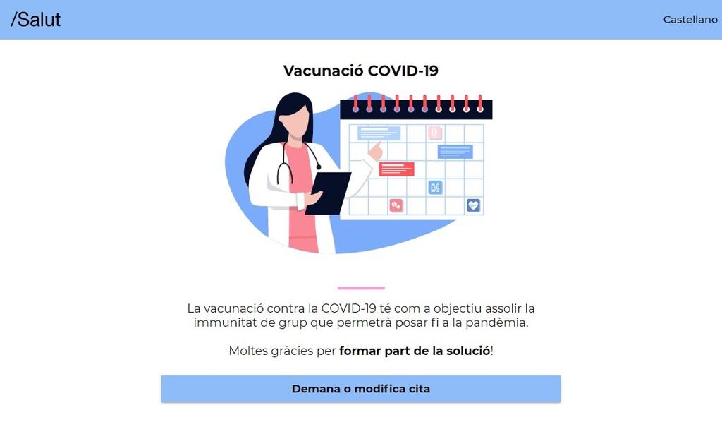 Un error de seguridad en la web de vacunación de Cataluña ha expuesto datos personales de la ciudadanía