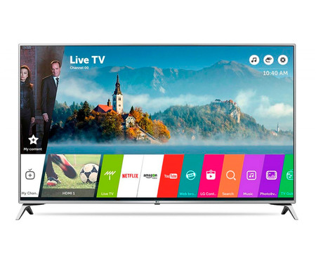 Smart TV de 49 pulgadas LG 49UJ651V, con resolución 4K, por sólo 539 euros y envío gratis