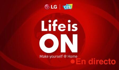 LG en CES 2021: sigue la presentación de hoy en directo con nosotros [finalizado]