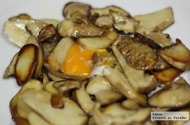 receta de boletus edulis a la plancha