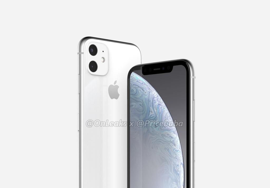 El sucesor del iPhone XR poseera doble cámara en un módulo cuadrado según los renders de OnLeaks