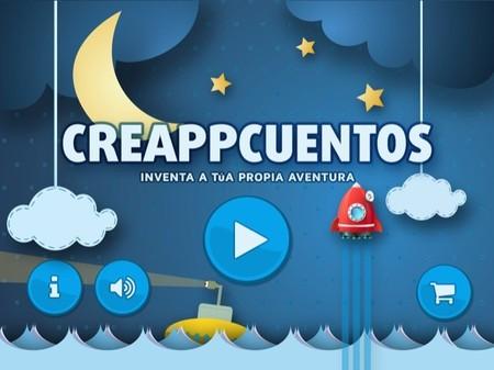 Creappcuentos es una aplicación que permite que los niños creen historias animadas