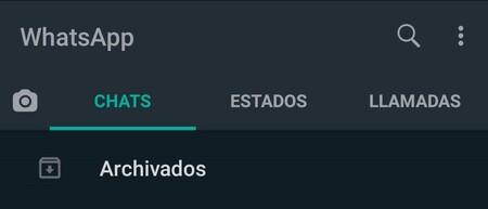 Whatsapp Nuevos Chats Archivados