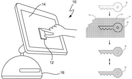Y otra patente más... en un iMac con pantalla táctil