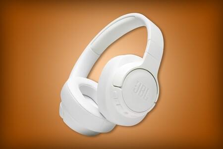 Audífonos inalámbricos JBL Tune 700BT con 45% de descuento en Amazon México: hasta 27 horas de batería y cable 3.5 mm desmontable