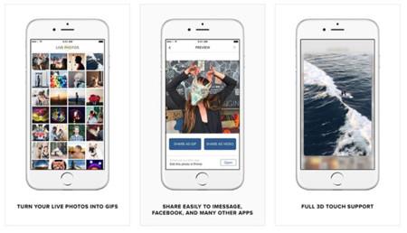 """La aplicación Live GIF convierte las """"Live Photos"""" de tu iPhone 6s en GIFs animados"""