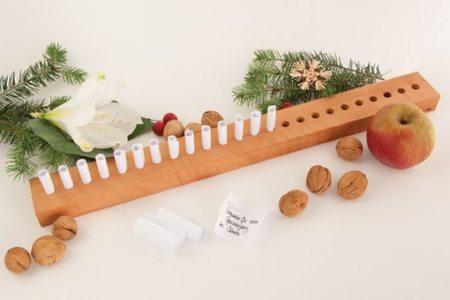 Calendarios de Adviento para una Navidad minimalista