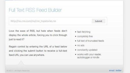 Recibe los posts enteros de feeds que los muestran incompletos