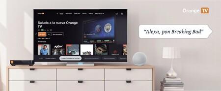 Orange TV ya admite el control por voz con Alexa en su decodificador