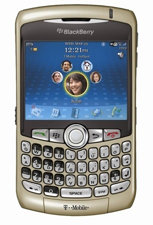 BlackBerry Curve 8320 con WiFi