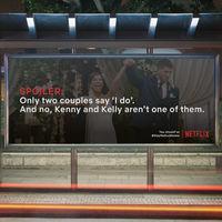 Idean una campaña para que no salgamos de casa usando el nombre de Netflix: spoiler por doquier en los sitios más concurridos