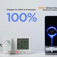 Xiaomi afirma que su carga rápida de 200W no destrozará la autonomía de tu batería