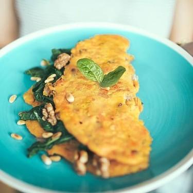Omelette campestre. Receta fácil para el desayuno