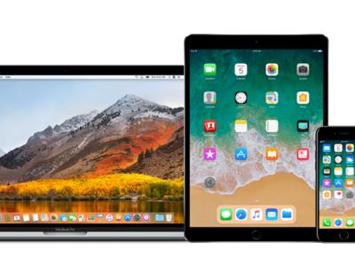 ¿Listos para actualizar? Apple lanza la beta pública de iOS 11.1, tvOS 11.1, macOS High Sierra