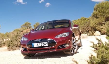 Tesla Model S prueba en Ibiza 13