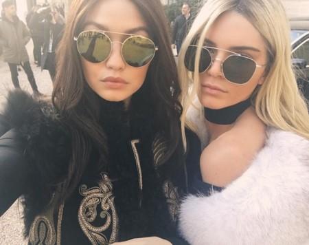Gigi Hadid Kendall Jenner Swap 2