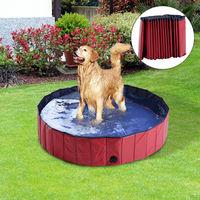 Bañera/piscina con desagüe para perros rebajada de 49,99 euros a sólo  39,95 euros y con envío gratuito en Ebay