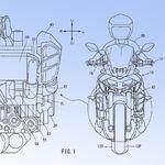 Una Yamaha MT-10 con el motor tricilíndrico de la MT-09, turboalimentado y con 180 CV podría llegar, según estas patentes